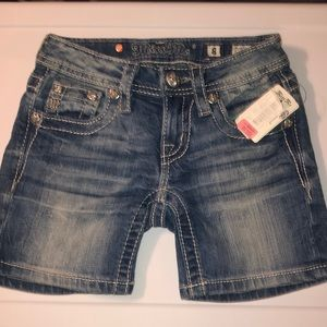 KIDS MISS ME SHORTS NEW! SIZE 8